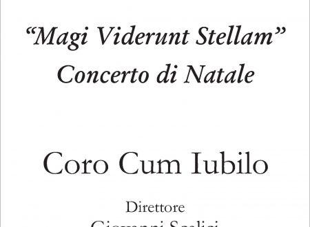 """CONCERTO DEL CORO """"CUM IUBILO"""" IL 23/12"""