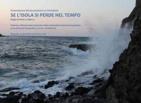 """""""SE L'ISOLA SI PERDE NEL TEMPO"""" – GIOVEDI' 15 DICEMBRE ALLE 17,30 AL MUSEO INT.LE DELLE MARIONETTE"""