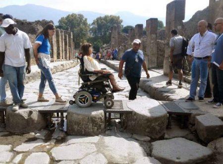 """""""Pompei per tutti"""", ampliata l'offerta per i disabili e lancio braccialetti Smart@Pompei"""