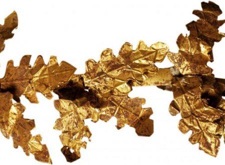 Una mostra con i reperti in oro dai depositi del museo di Agrigento